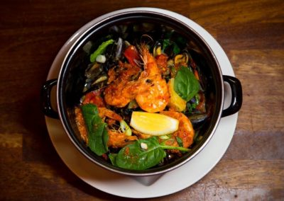 Prawn and Mussel Pot